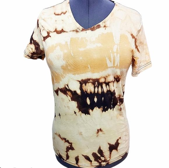 One Of A Kind Reverse Tie Dye Tshirt Size L